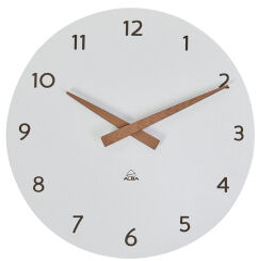 ALBA Horloge murale 'HORMILENA', montre à quartz, gris